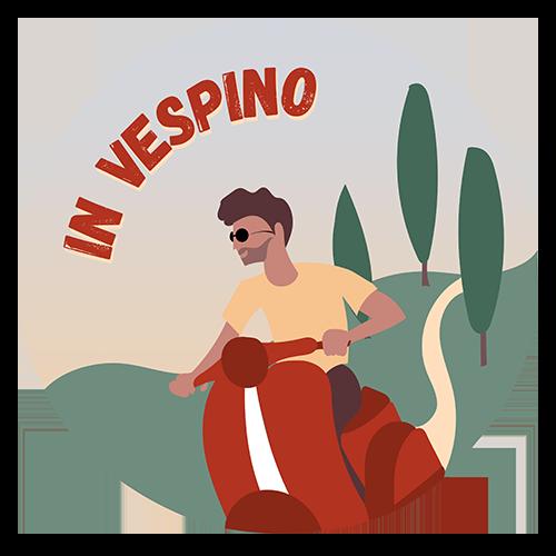 Logo In Vespino Con Benjamino